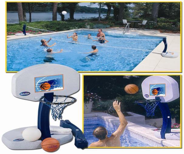Bollspel-Volleyboll och basket - Poolswim 2b7d068bda856